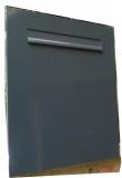 zbk401 basismodell 145 mm gro raum zaunbriefkasten einbau briefkasten durchwurfbriefkasten. Black Bedroom Furniture Sets. Home Design Ideas