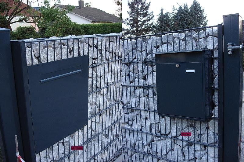 Zaunbriefkasten Mit Klingel zbk401 300 basismodel zaunbriefkasten ohne klingel und ohne