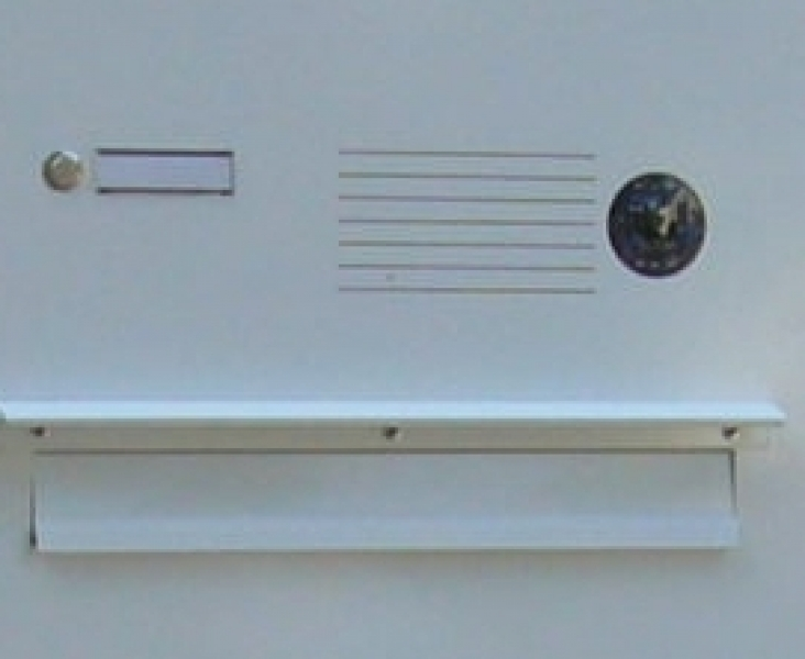 Video-Zaun-Briefkasten ZBK421V - mit seperatem Funktionskasten ...
